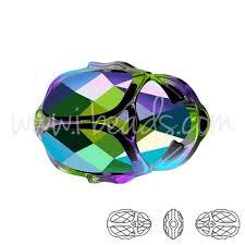 5728 swarovski scarab bead 12mm crystal scarabaeus green perfect