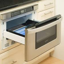Sliding Drawers For Kitchen Cabinets by Home Accessories Modern Microwave Drawer With Kitchen Cabinet
