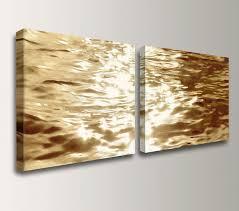 Wall Art Designs Gold Wall Art Beach Art Canvas Print Gold Water