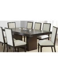 espresso rectangular dining table deal alert the gray barn eaton espresso brown dining table amia