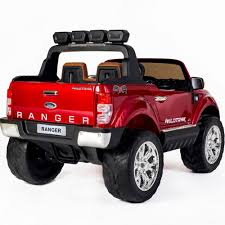 jeep red 2017 buy ford ranger wildtrak 2017 licensed 4wd 24v battery ride on jeep