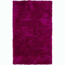Round Pink Rugs by Hand Woven Safir Fuchsia Pink Shag Rug 3 U0027 Round Free Shipping
