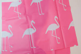 Flamingo Shower Curtains Zippy Wet Pouch Made From A Shower Curtain The Polka Dot Chair