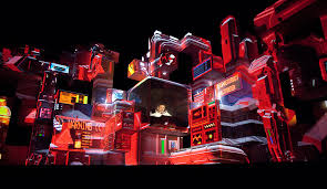 Amon Tobin ISAM Tour Visuals Music Related Visuals - Amon tobin kitchen sink