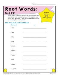 root word worksheets worksheets