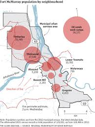 Where Is Fort Mcmurray On A Map Of Canada Fort Mcmurray A Big Human And Economic Toll The Globe And Mail
