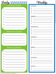chore list template house cleaning chore list template