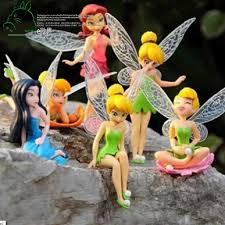 6pcs set diy miniature flying flower garden landscaping flower