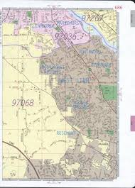 Portland City Map by West Linn Road Map