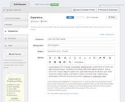 Build Your Resume Resume Builder Com Resume For Your Job Application