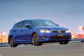 lexus ct200h app lexus ct 200h australian sales start