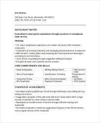 Waitress Sample Resume by Sample Resume Waitress Resume For A Waitress Resume Cv Cover