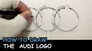 lexus symbol meaning how to draw the audi logo youtube