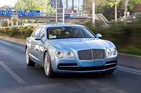 bentley continental flying spur blue 2014 bentley flying spur first drive motor trend