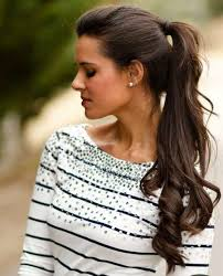 hair style fashion for fat ladies ponytail hair styles 2015 for women