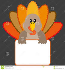 thanksgiving turkey clipart images thanksgiving turkey with banner royalty free stock photos image