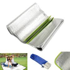 Outdoor Cing Rug Aluminum Foil Outdoor Travel Moistureproof Picnic Grass