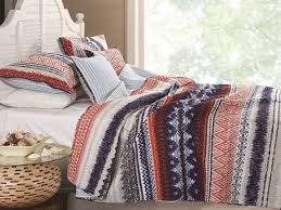 amazon com urban boho quilt set 3 piece full queen home u0026 kitchen