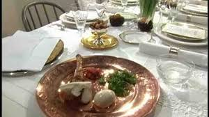 what did the passover meal consist of setting a passover seder table martha stewart