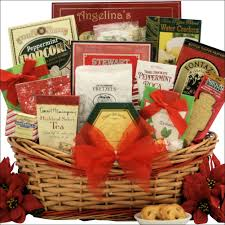 ghirardelli gift basket tidings of large gourmet christmas gift basket