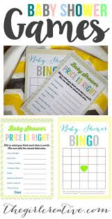 fun games for an entertaining baby shower
