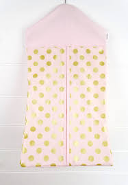 Diaper Stackers Nappy Stacker Diaper Stacker Pink U0026 Gold Dots