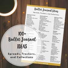 Bullet Journal App Android Bullet Journal Archives Infinite Planner