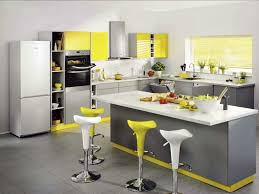 Gray And Yellow Kitchen Decor - yellow and gray kitchen decor grey and yellow kitchen with white