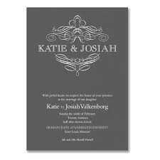 vera wang wedding invitations vera wang engraved calligraphic crest pewter wedding invitations85