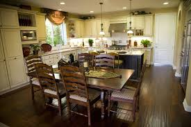 kitchen island with dining table 39 fabulous eat in custom kitchen designs