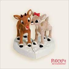 rudolph clarice figurines as wedding cake toppers i think yes