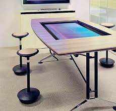 Touch Screen Conference Table State Of The Touchscreen Conference Tables By Wilkhakhn