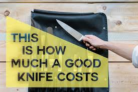 What Is A Good Set Of Kitchen Knives by This Is How Much A Good Knife Costs Kitchn