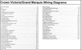 2007 grand marquis wiring diagram 2007 wiring diagrams collection