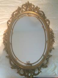 syroco mirror upcycled in louis blue hazel mae home