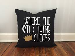 White Bedroom Gold Accents Wild Thing Pillow Cover Black And White Decor Gold Accent