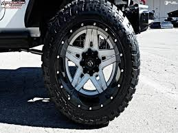 white jeep black rims jeep wrangler fuel full blown d255 wheels gloss white u0026 milled