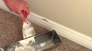 how to repair damaged baseboards youtube