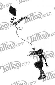 a silhoutte of a with her hair blowing in the wind one arm