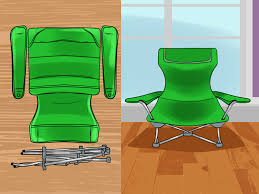 Reupholster Patio Chairs How To Reupholster A Lawn Chair 9 Steps With Pictures Wikihow