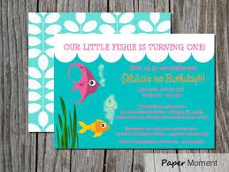 underwater party invitations free printable invitation design