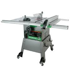 hitachi table saw price shop hitachi 15 amp 10 in table saw at lowes com
