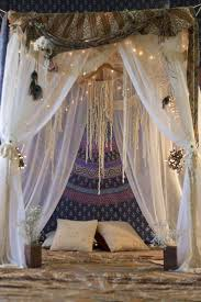 Boho Bed Canopy Versions Of Bohemian Style Been With Us Since The Late 19th