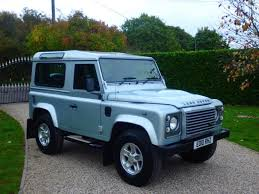 used zermatt silver land rover defender for sale essex