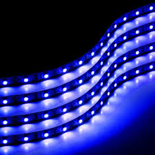 Led Flexible Light Strip by Amazon Com Zone Tech 30cm Flexible Waterproof Blue Light Strips 4