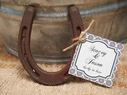 horseshoe wedding favors decor ideas for equestrian themed weddings style reins