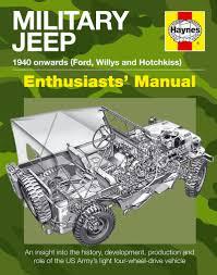 army jeep military jeep manual haynes publishing
