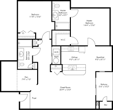 floor plans towne brooke commons apartments