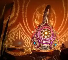 Unique Handmade Lamps Gourd Lamps Alanya Rising Star Handmade