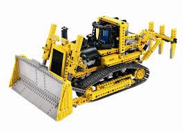 lego technic remote control motorised bulldozer lego pinterest